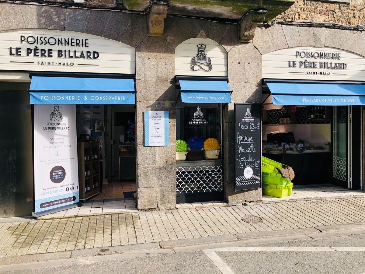 Boutique à Paramé POISSONNERIE LE PÈRE BILLARD à Saint-Malo
