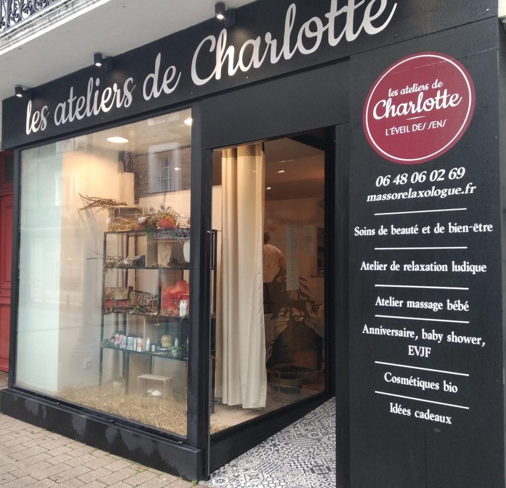 Les ateliers de Charlotte à Paramé Saint Malo