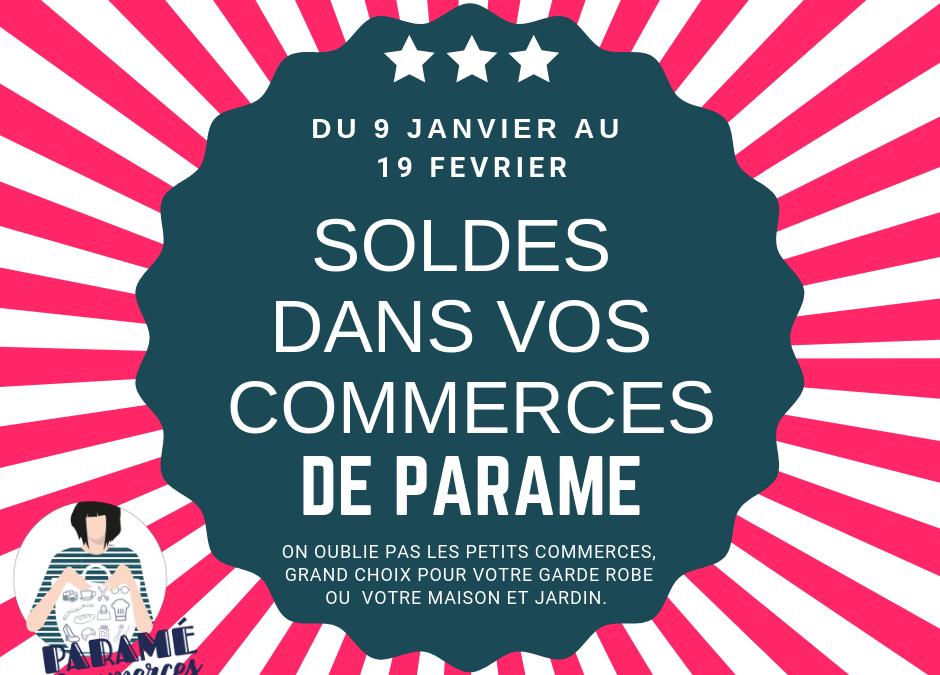 Solde de vos commerces à Paramé du 9 janvier au 19 février 2019