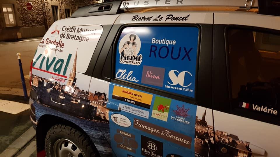 Paramé soutient les deux malouines au Rallye «Aïcha des Gazelles»