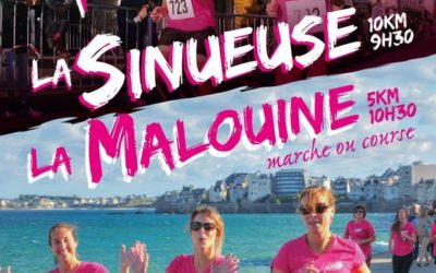 Course à pieds La Sinueuse – La Malouine dimanche 27/10/19
