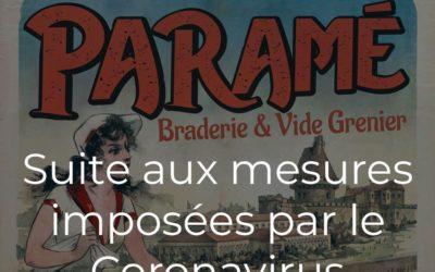 La Braderie de Paramé du samedi 18 juillet 2020 est annulée !