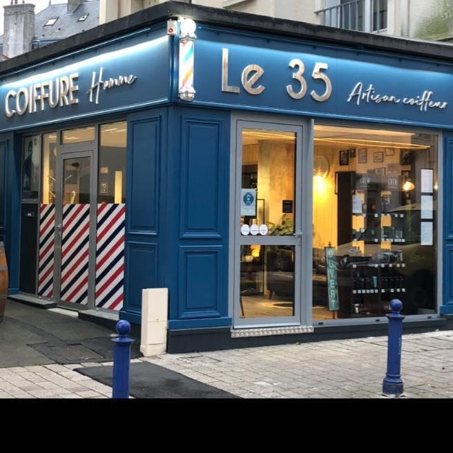 Le 35 Coiffeur homme et Barbier à Saint-Malo Paramé