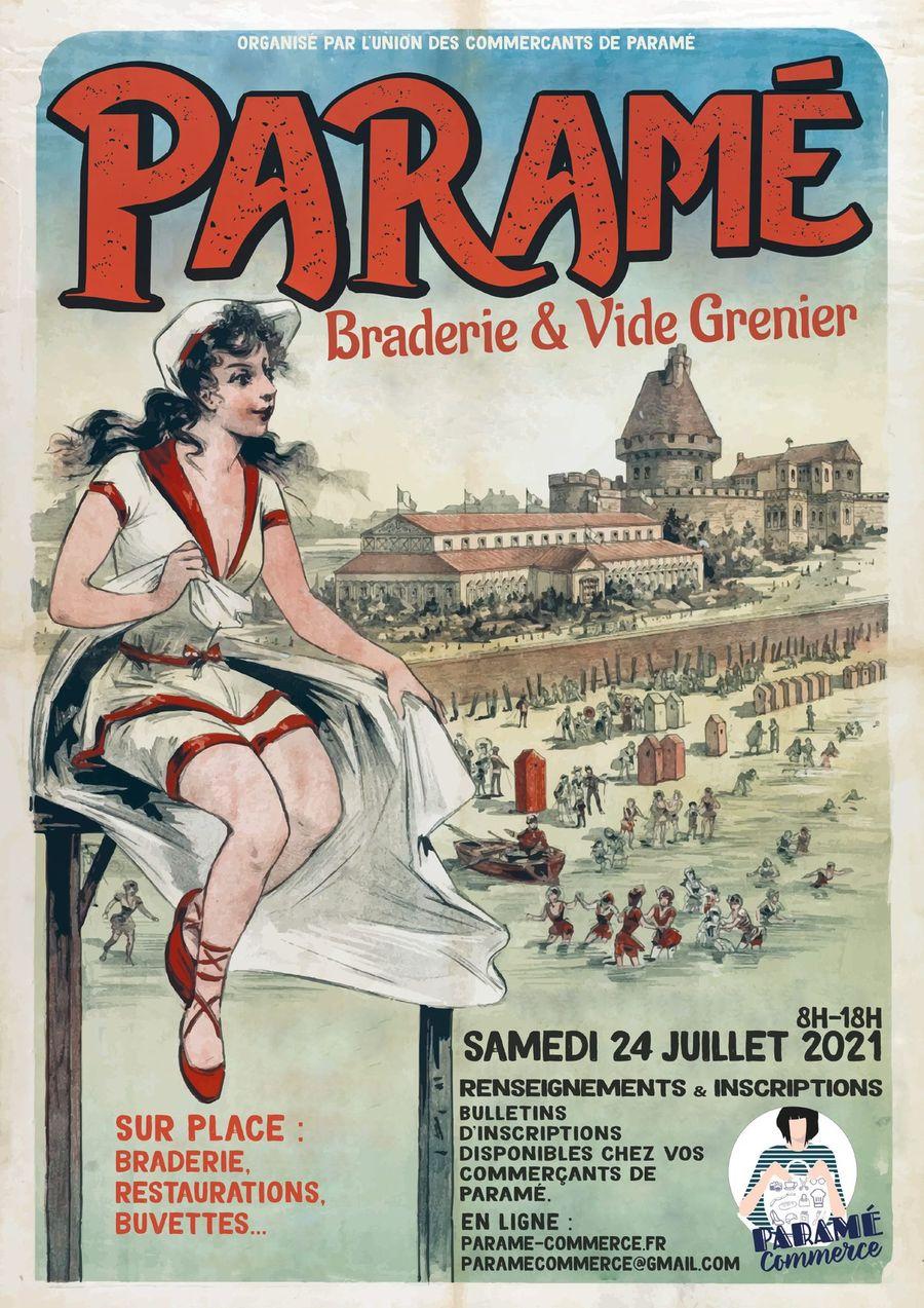 Braderie de Paramé du samedi 24 juillet 2021 à Saint-Malo